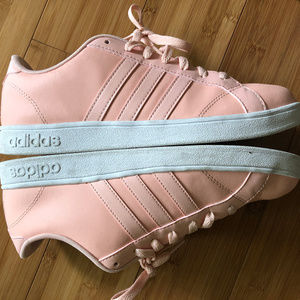 Women's Adidas Neo BASELINE Pink AW5418 Sneakers 9